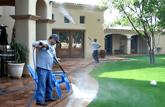 Pressure-Washing-For-Your-Backyard